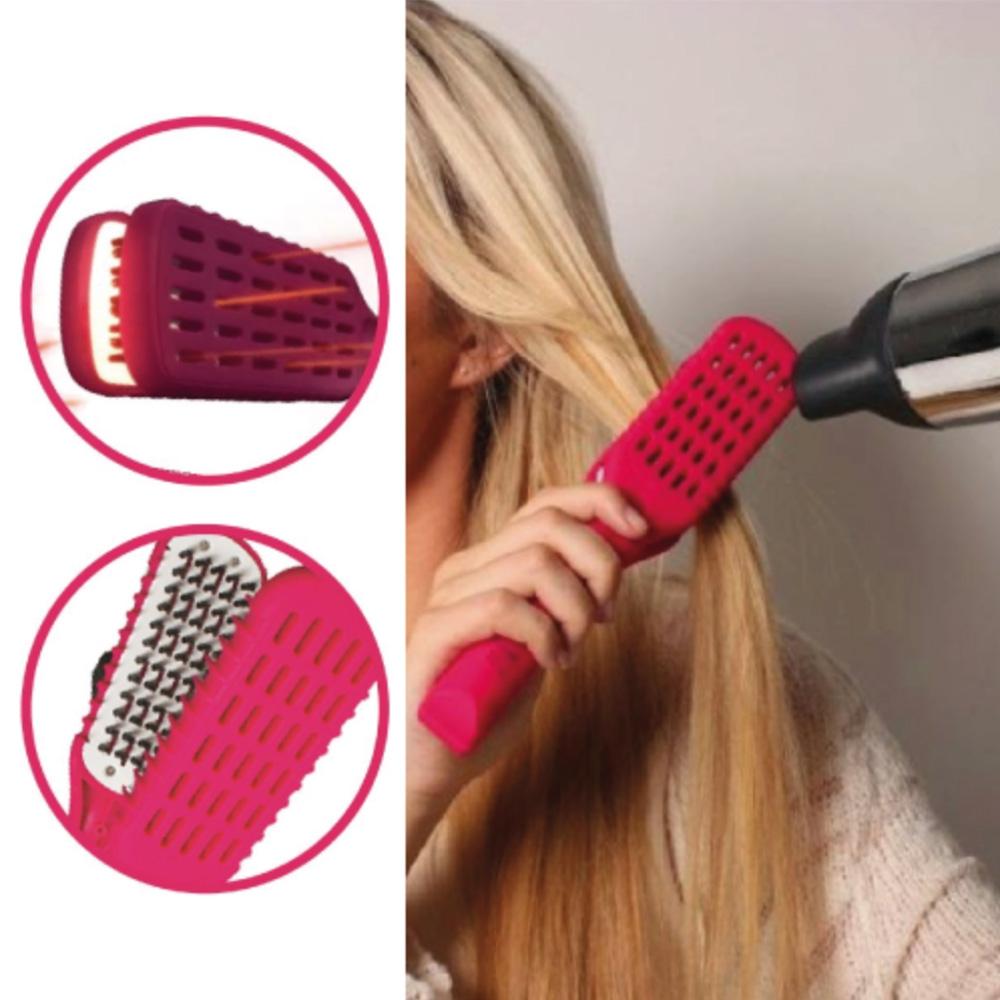 Predlžovanie vlasov a účesy - Kefa na vyrovnávanie vlasov Straight n Go ... 28c98e1894