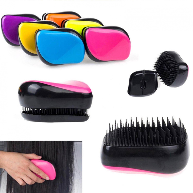 Predlžovanie vlasov a účesy - Rozčesávacia kefa na vlasy Detangling Comb ... d379252d1c