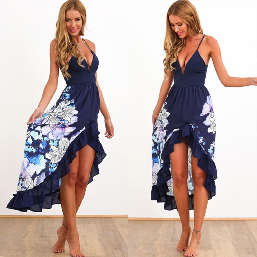 fc3e6ef88 Dámske letné kvetinové šaty | Dámske oblečenie | Svetový Tovar