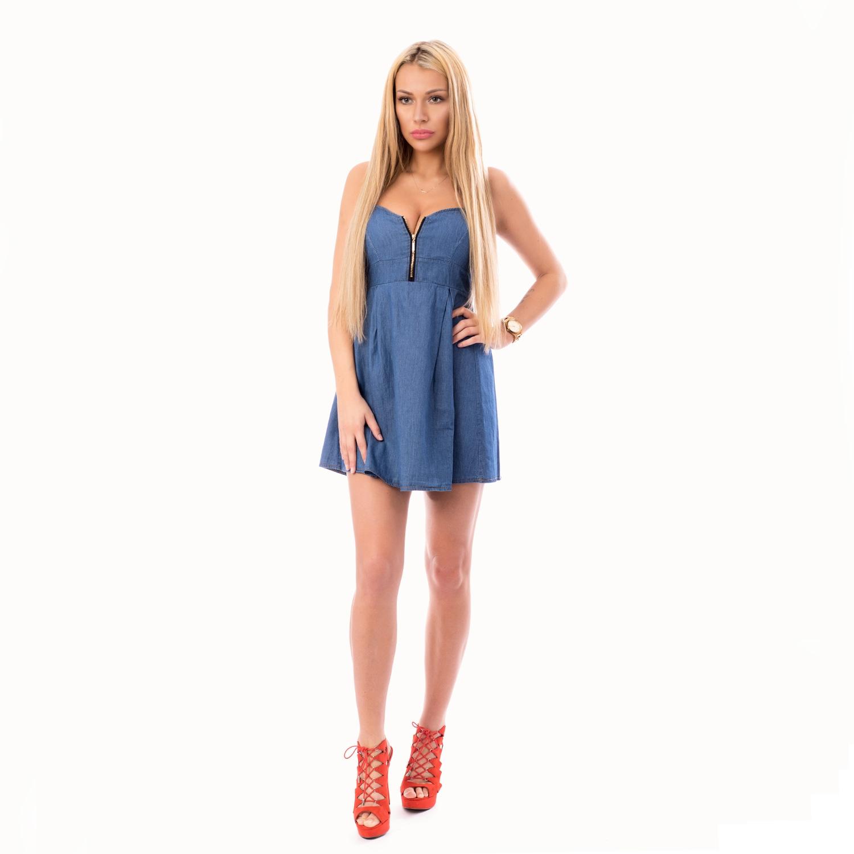 ... Dámska móda a doplnky - Dámské riflové šaty c0085a2c91