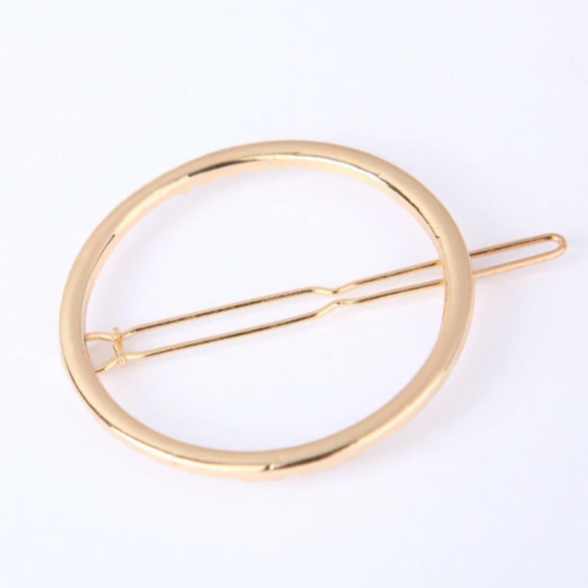 ... Predlžovanie vlasov a účesy - Kovová spona do vlasov - Orbit - zlatá d3b422a15a