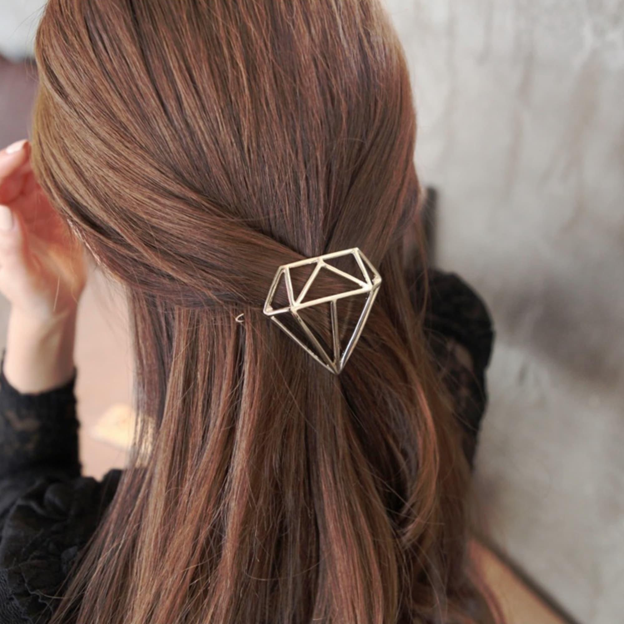 Predlžovanie vlasov a účesy - Spona do vlasov Diamond ... e94b427fd9