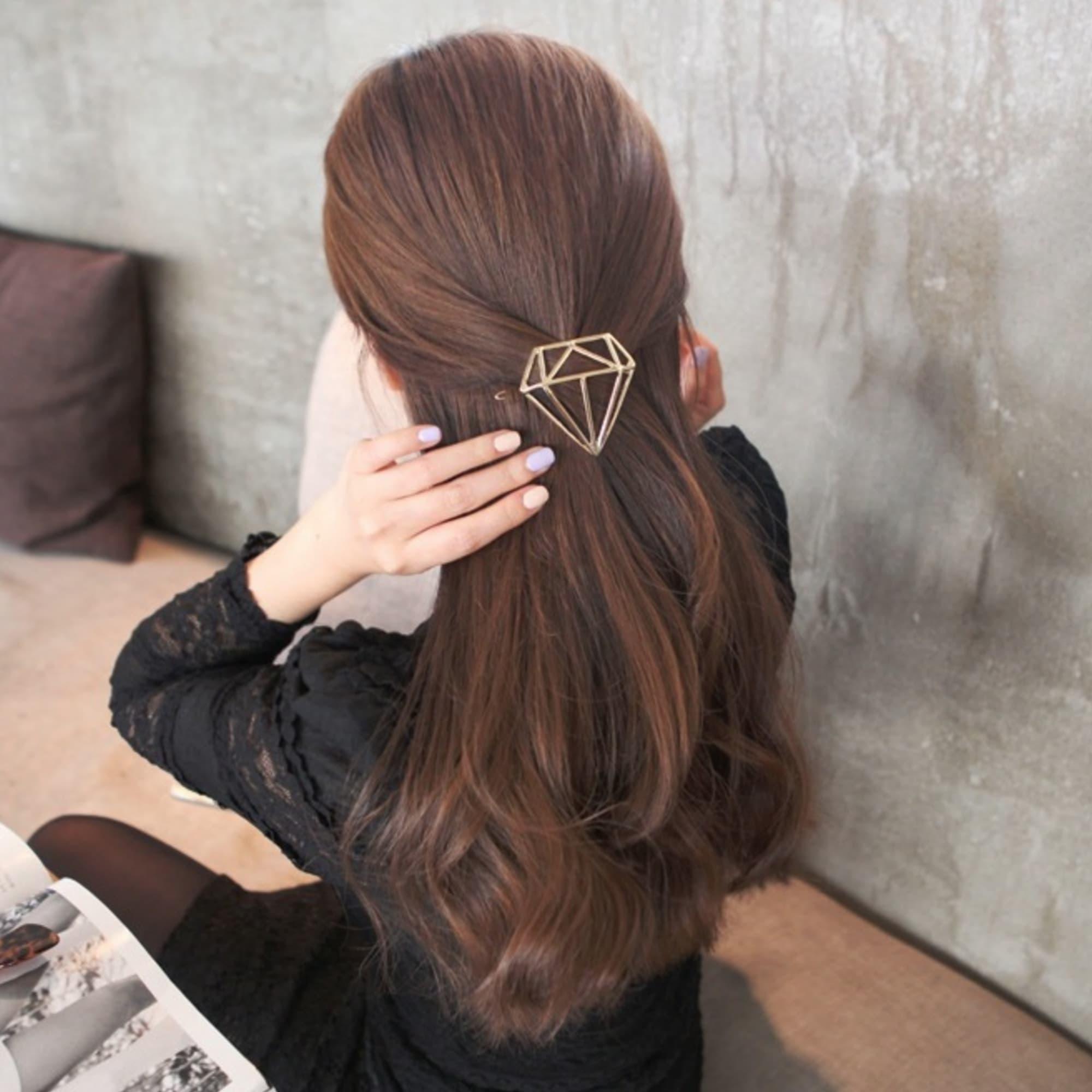 0afcd39bb37 ... Predlžovanie vlasov a účesy - Spona do vlasov Diamond ...