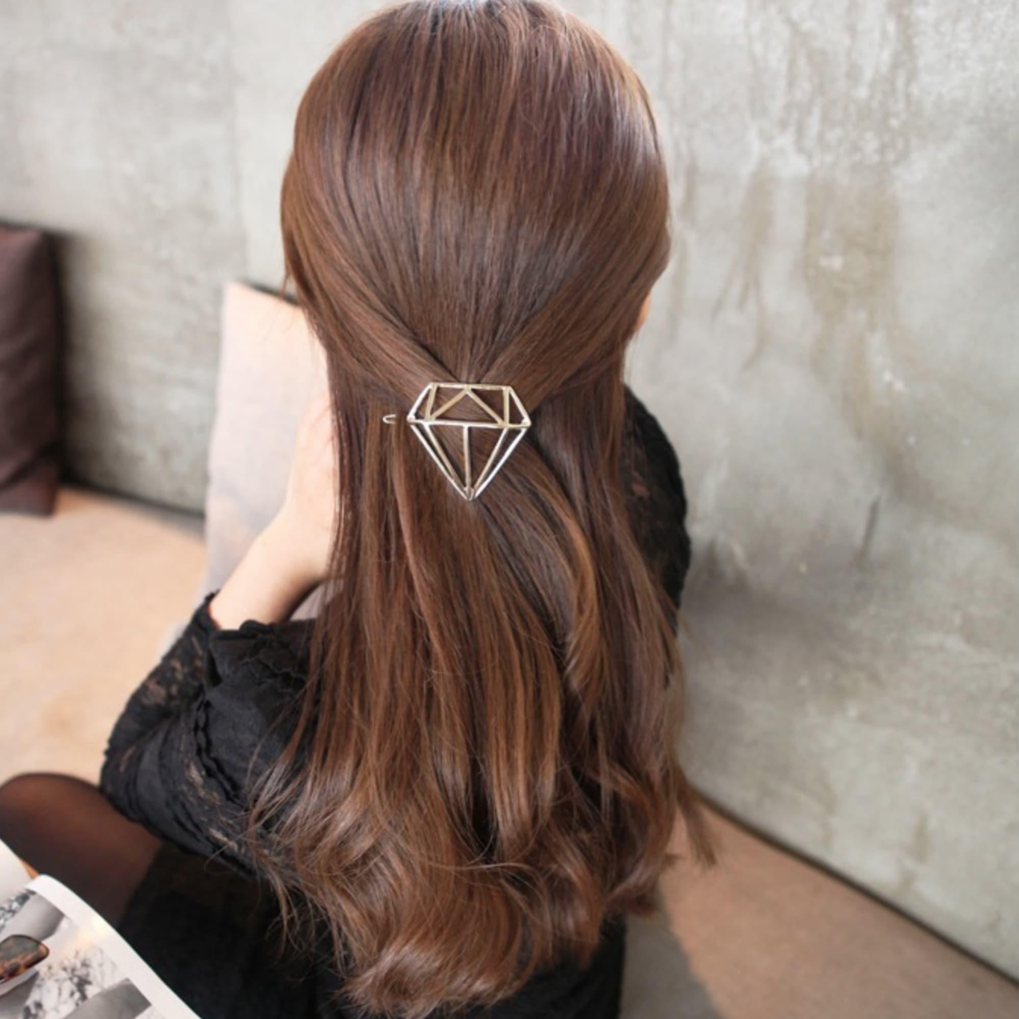 4c7c1757ebe ... Predlžovanie vlasov a účesy - Spona do vlasov Diamond