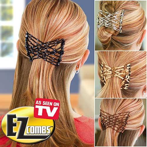7b2c15e45b3 Predlžovanie vlasov a účesy - Multifunkčná spona EZ - Combs - výber farieb  ...