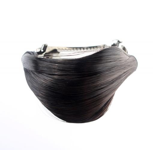 03385c8874b ... Predlžovanie vlasov a účesy - Elegantná spona do vlasov s vlasovým  prameňom ...