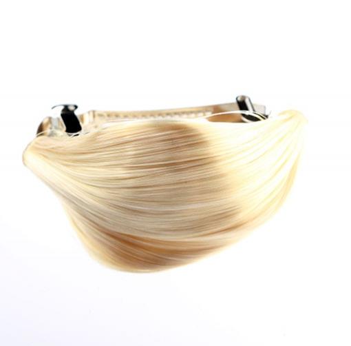 7a513d4778c ... Predlžovanie vlasov a účesy - Elegantná spona do vlasov s vlasovým  prameňom