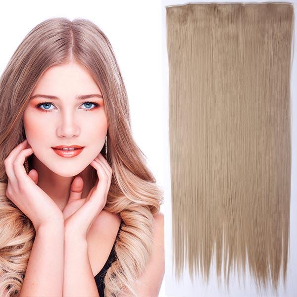 Clip in vlasy - 60 cm dlhý pás vlasov - odtieň (18 (stredne plavá)) - Světové Zboží