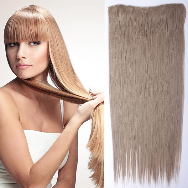 Clip in vlasy - 60 cm dlhý pás vlasov - odtieň (16 (pastelovo plavá)) - Světové Zboží