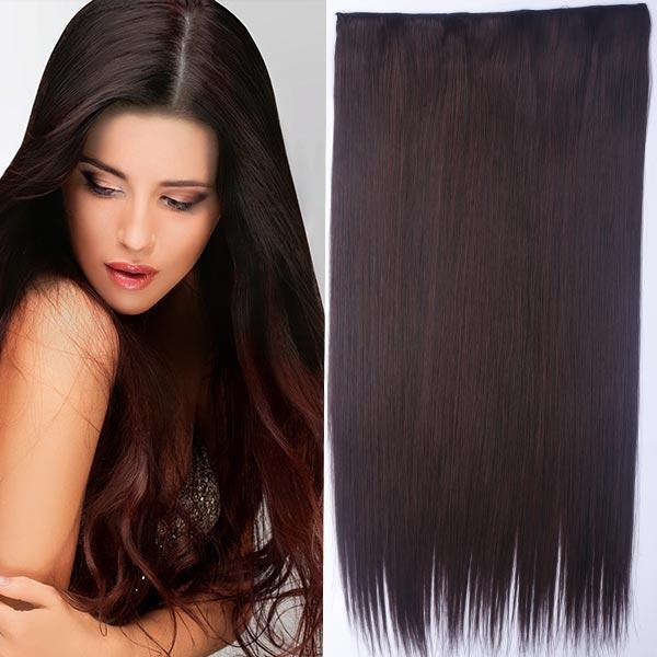 Predlžovanie vlasov a účesy - Clip in vlasy - 60 cm dlhý pás vlasov -  odtieň ... cc3e0881f40
