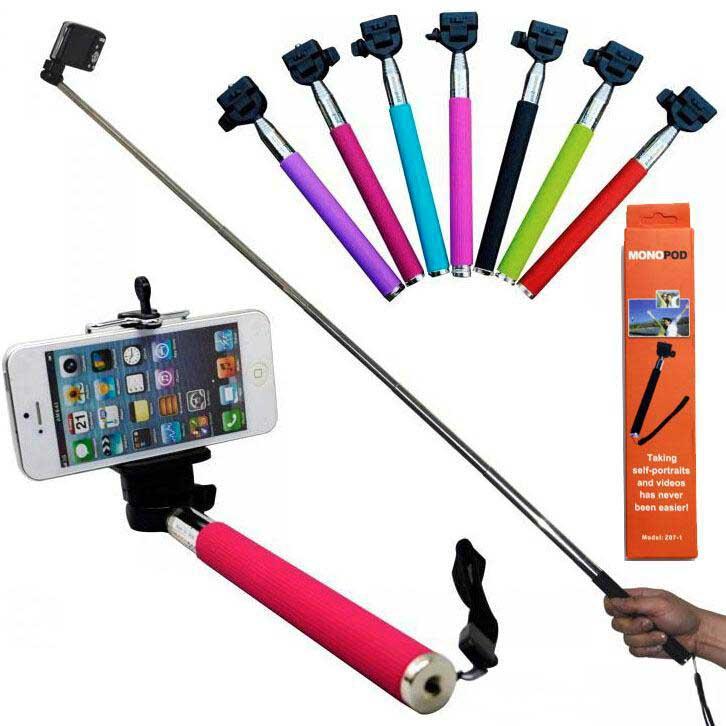 Dámska móda a doplnky - Teleskopická selfie tyč 2495c84621f