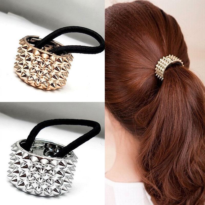 Predlžovanie vlasov a účesy - Kovová spona do vlasov HARD ROCK ... afae1e124e