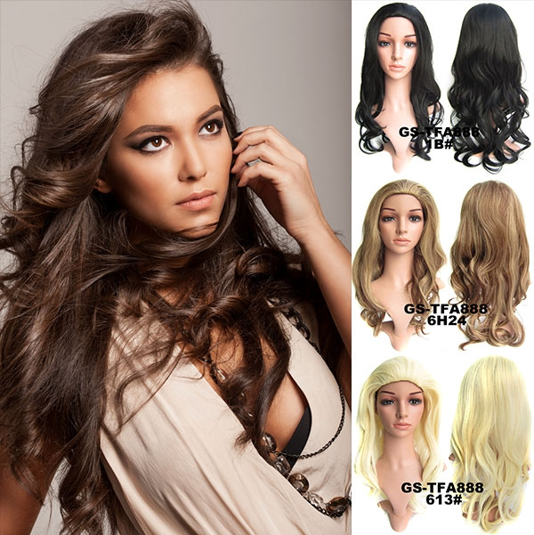 ed2638a84 Predlžovanie vlasov a účesy - Poloparochňa - 3/4 parochňa zvlnená TFA - výber  odtieňov ...