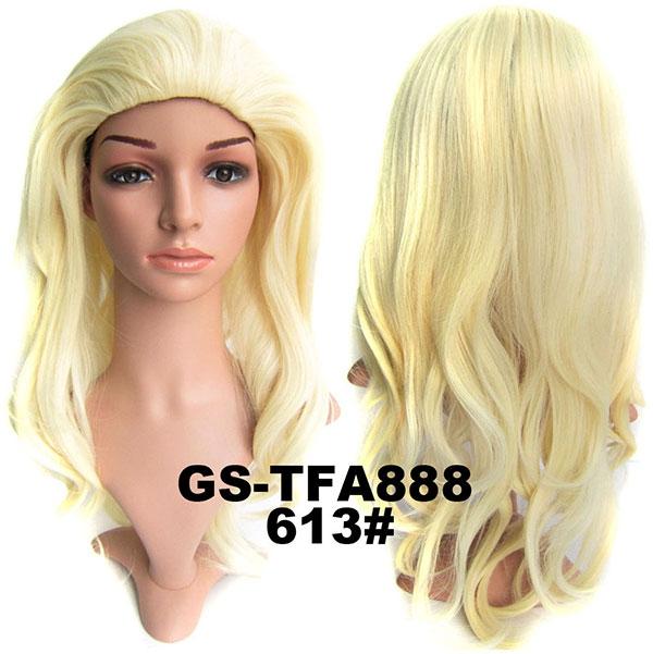 949797b74 ... Predlžovanie vlasov a účesy - Poloparochňa - 3/4 parochňa zvlnená TFA - výber  odtieňov ...