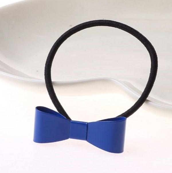 ... Predlžovanie vlasov a účesy - Spona pre tvorbu copu kovová mašlička v  MOCCA farbách a795aab659