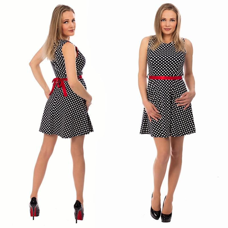ad8e84b50 Dámske retro šaty s bodkami | Dámske oblečenie | Svetový Tovar
