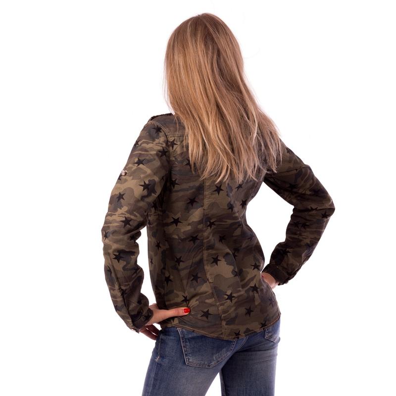 d32d3c31ea8d ... Dámska móda a doplnky - Dámska košeľa US Army štýl