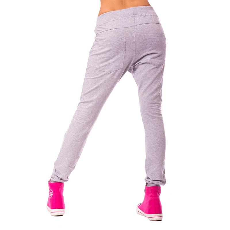 8c4bba8cd00c ... Dámska móda a doplnky - Dámske háremové nohavice - svetlo šedé