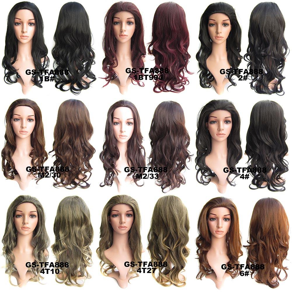 75576e32d ... Predlžovanie vlasov a účesy - Poloparochňa - 3/4 parochňa vlnitá TFB - výber  odtieňov ...