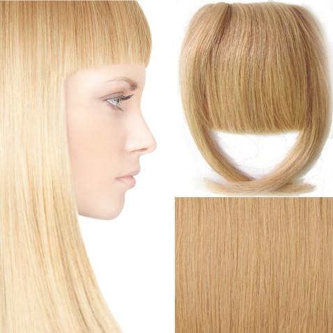 Clip in ofina - REMY 100% ľudské vlasy - 27 - karamelová