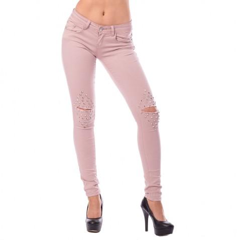 Dámske staroružové jeans Pyramid