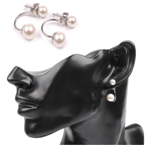 Náušnice s perlami