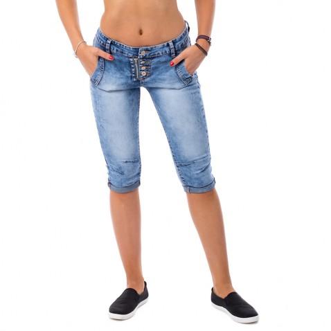 Dámske trojštvrťovej jeans
