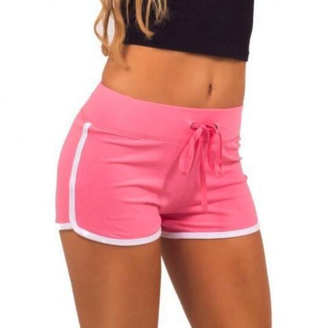 Dámske športové kraťasy Fitness - ružové