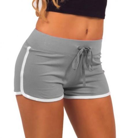 Dámske športové kraťasy Fitness - šedé