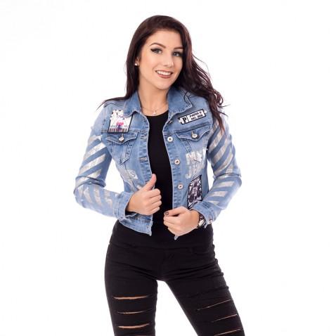 Dámska jeans bunda Paris