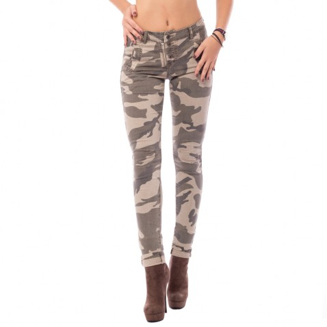 Dámske jeans nohavice ARMY