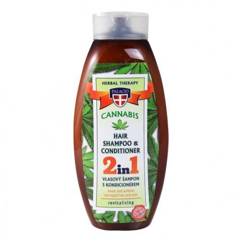Konopný šampón s kondicionérom, 500 ml