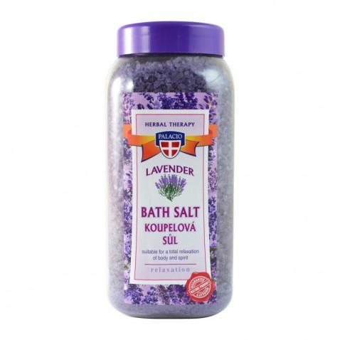 Levanduľová soľ do kúpeľa, 900 g