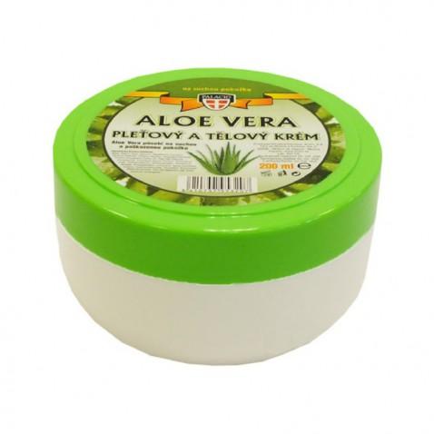 Aloe Vera pleťový a telový krém, 200 ml
