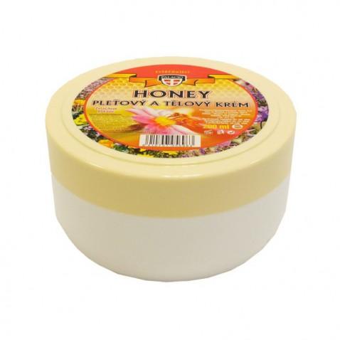 Honey pleťový a telový krém, 200 ml