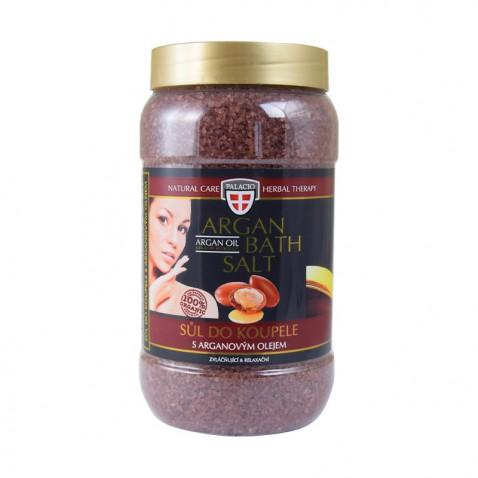 Arganový olej soľ do kúpeľa, 1200 g