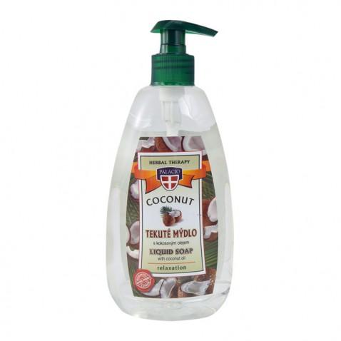 Kokosové tekuté mydlo s pumpičkou, 500 ml