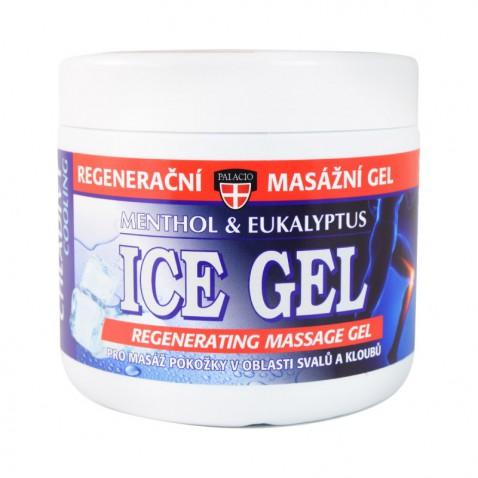 Ice gél masážne - mentol & eukalyptus, 600 ml