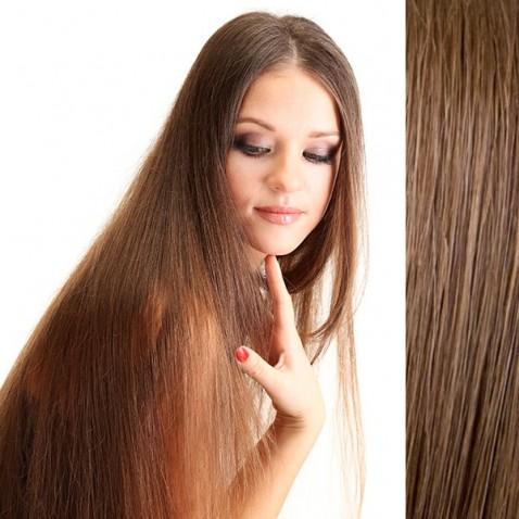 Clip in vlasy 56 cm ľudské - Remy 70g - odtieň 6