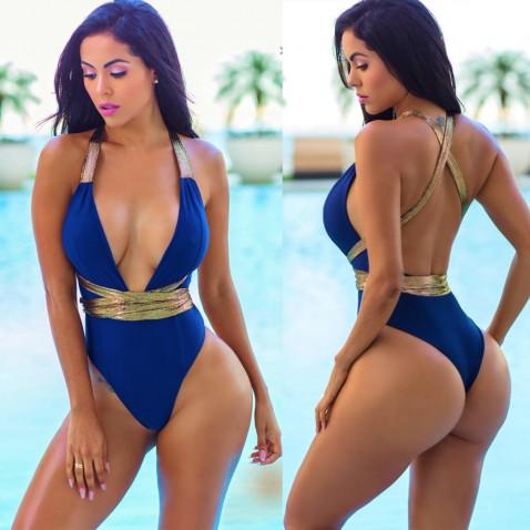Dámske jednodielne plavky - Melissa