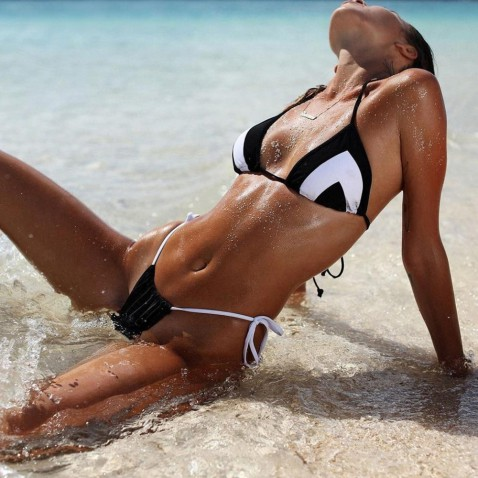 Dámske dvojdielne plavky Cathi Black