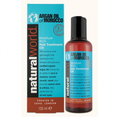 Natural World Maroccan argan oil, 100 ml