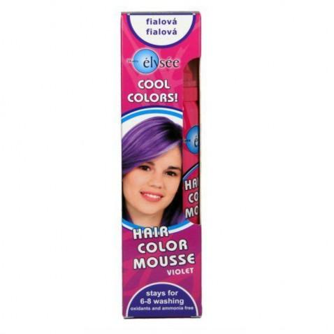 Elysée farebné penové tužidlo 43 fialová, 75 ml