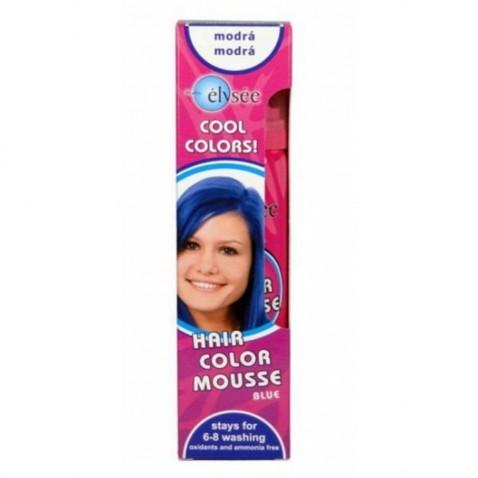 Elysée farebné penové tužidlo 42 modrá, 75 ml