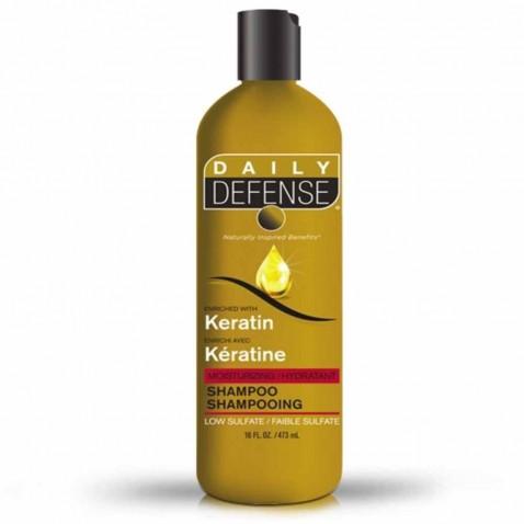 Daily Defence vlasový šampón s keratínom, 473 ml