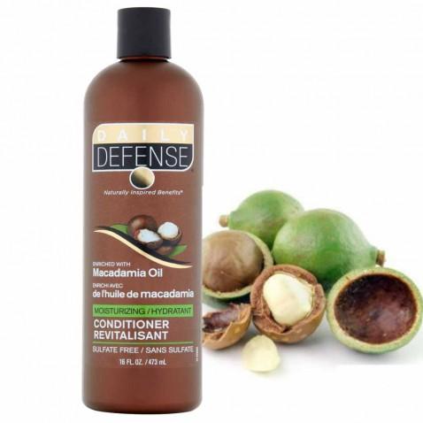 Daily Defence vlasový kondicionér s makadamiovým olejom, 473 ml
