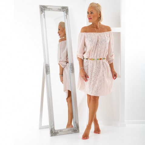 Dámske šaty s opaskom - Bead