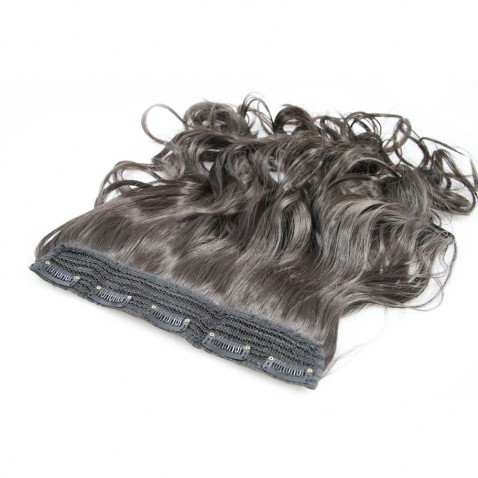 Clip in pás vlasov - lokne 50 cm - odtieň 2