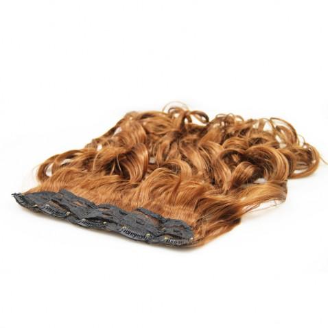 Clip in pás vlasov - lokne 50 cm - odtieň 30