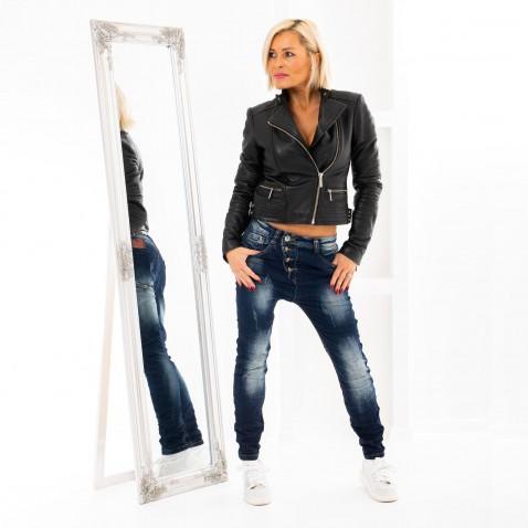 Baggy jeans s gombíkmi